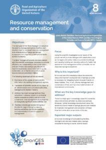 FAO, Factsheet, WP8, SponGES
